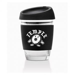 Café glass cup