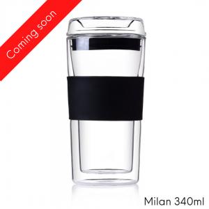 Milan glass cup 340ml
